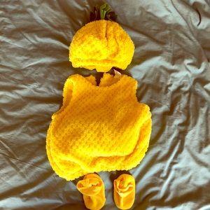 Baby pineapple Halloween costume